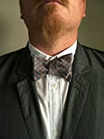 Bundle Monster 3pc Mens Fashion Adjustable Length Self Tied Necktie Bow Ties