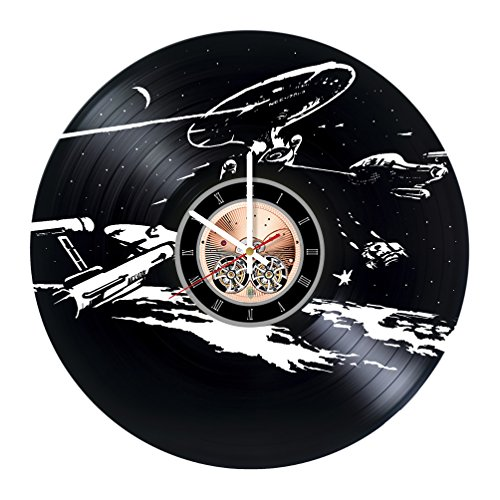 7 Of 9 Borg Costume (Star Trek Next Generation Vinyl Record Wall Clock - Bedroom wall decor - Gift ideas for friends, parents, teens – Movie Unique Art Design)