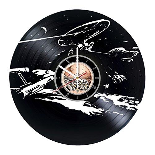 Costume Borg 9 7 Of (Star Trek Next Generation Vinyl Record Wall Clock - Bedroom wall decor - Gift ideas for friends, parents, teens – Movie Unique Art)