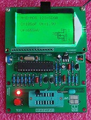 Yosoo GM328 Lcd Display Transistor Tester ESR Meter Cymometer Square Wave Generator