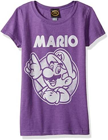 Nintendo Girls' So Mario Graphic Tee