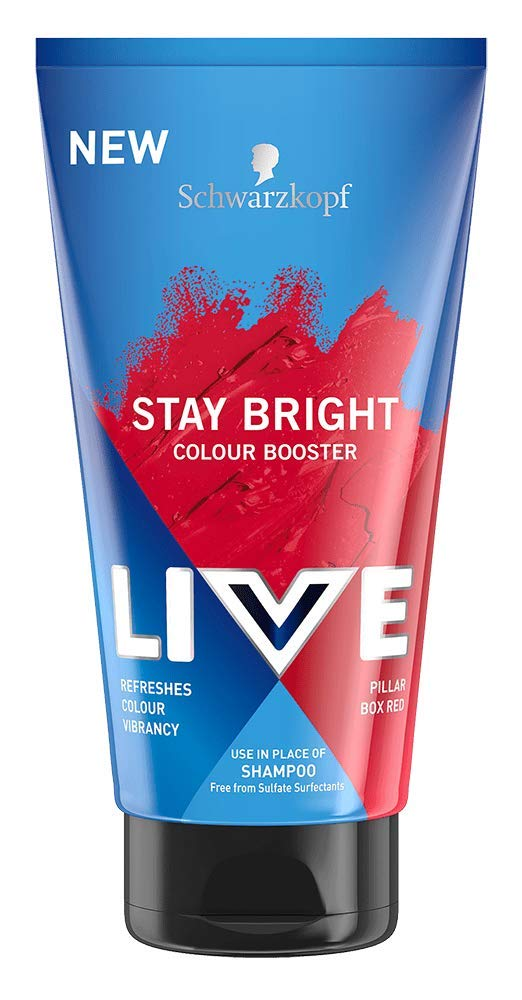 Schwarzkopf Live Colour Booster Shampoo - Stay Bright Pillar Box Red 150ml