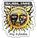 C&D Visionary Licenses Products Sublime Sun Sticker, 40-Ounce