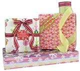 Gift Wrap Company Modern Holiday Glamour Gift Wrap, Tags And Ribbon Assortment Kit