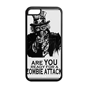 Custom Walking Dead Back Cover Case for iphone 5/5s iphone 5/5s LLCC-463