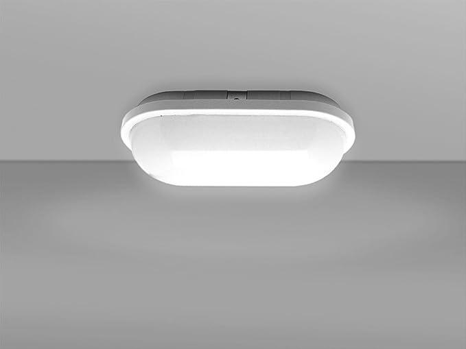 Plafoniere A Led 4000k : Plafoniera led ovale w k lm ip opale parete soffitto