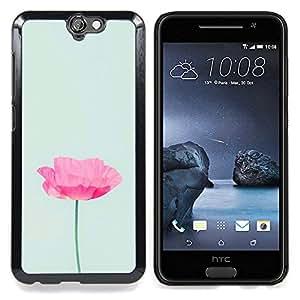 """Planetar ( Naranja abstracto púrpura rojo Patrón"""" ) HTC One A9 Fundas Cover Cubre Hard Case Cover"""