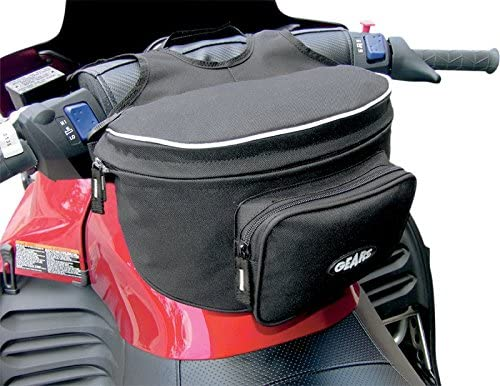 Orange Cycle Parts Basic Motorcycle Handlebar Bag Fanny Pack by Gears Canada 300165-1