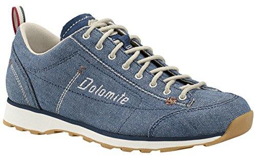 Dolomite - Zapatos de cordones de Lona para mujer denim blue/canapa beige
