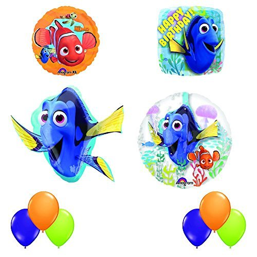 (Finding Dory Ultimate INSIDER 10 pc Birthday Party Balloon Decorating)