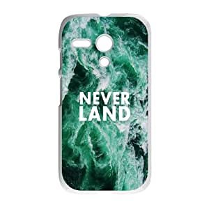 Motorola G Cell Phone Case White quotes parallax neverland sea SUX_047285