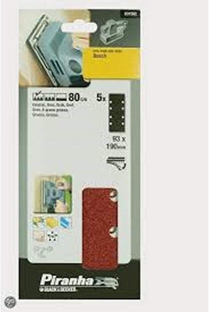 pintura Madera 5 hojas de lija perforadas Autoadherentes BLACK /& DECKER X31592-XJ 1//3 metal y pl/ástico. yeso 93 x 190mm Grano 240 barniz