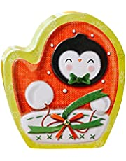AVBXAWGU Christmas Candy Jar Christmas Tinplate Box with Metal Cookie Box Candy Storage Jar Tinplate Gift Boxes With Lids For Xmas Party Supplies C