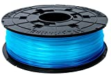 XYZprinting RFPLCXUS05C da Vinci Jr. & mini Series PLA Spool, Clear Blue