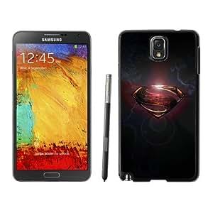Samsung Note 3 Case,Superman logo For Samsung Note 3 Black Case Cover