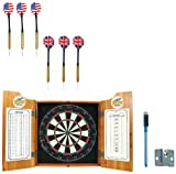 NCAA Toledo dart cabinet with Darts and Board