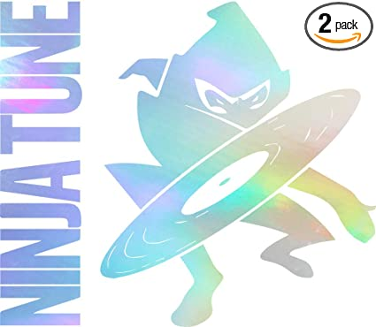 Amazon.com: Ninja Tune Records (Hologram) (Set of 2) Premium ...