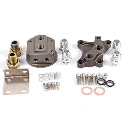 For NISSAN SR20DET 240SX SR20 200SX S13 S14 S15 Oil Wedge Block Adaptor