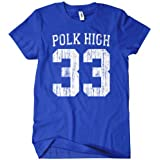 Polk High T-Shirt Al Bundy Married With Children TEE Funny No Maam Football