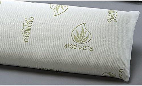 MOLLICCIO Almohada VISCOELASTICA Aloe Vera 90: Amazon.es: Hogar