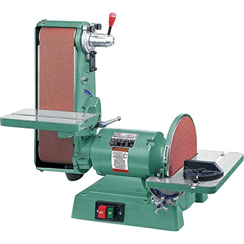 "Grizzly Industrial G1276-6"" x 48"" Belt/12"" Disc Combo Sander, 1725 RPM"