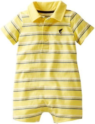 De Carter bebé niños de rayas Polo Body (bebé) – amarillo – 12 ...