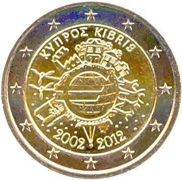 2 € Chipre 2012 Diez años de Billetes y Monedas en Euros: Amazon.es: Juguetes y juegos