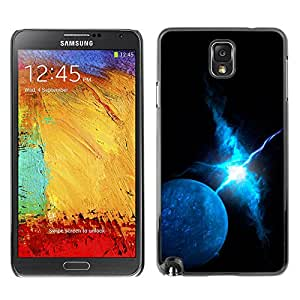 Planetar® ( Lightening Of The Moon ) SAMSUNG Galaxy Note 3 III / N9000 / N9005 Fundas Cover Cubre Hard Case Cover