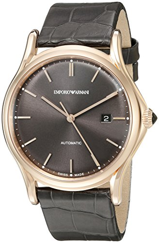 Emporio-Armani-Swiss-Made-Mens-ARS3003-Analog-Display-Swiss-Quartz-Grey-Watch