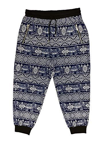 Ingear Jogger Pants Pocket Casual Sport Drawstring Harem Soft Runner Yoga Pilate (Small/Medium, Black)