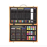 Darice Art Supplies for Drawing, Painting and More in a Compact, Portable Case - Makes a Great Gift for Beginner and Serious Artists