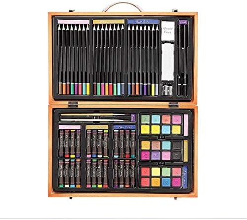 Darice- Caja de Madera con Set artístico Profesional, Multicolor, 14.5x9.1x2.9 Inches (1103-08): Amazon.es: Hogar