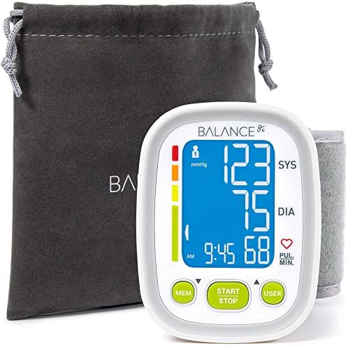 GreaterGoods Wrist Blood Pressure Monitor Cuff (2019 Update), Track Data