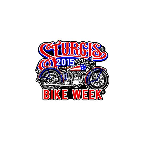 Swept Eagle - Hot Leathers Official 2015 Sturgis Motorcycle Rally 75th Anniversary USA Bobber Patch