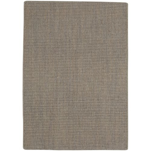 Capel 9532RS100014 Hermitage Ii 10' x 14' Rectangle Wool Flat Weave Solid Area R, Smoke (Rugs Capel 10)