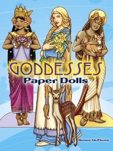 Goddesses Paper Dolls  Dover Paper Dolls