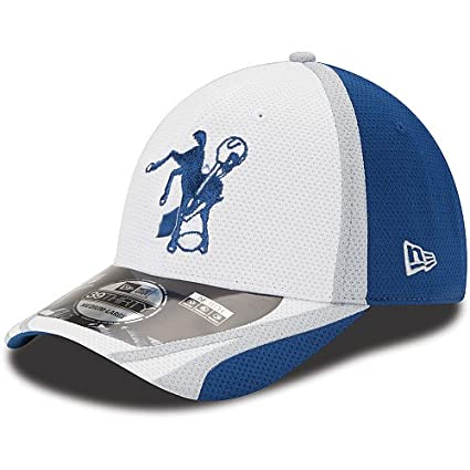 Amazon.com   New Era Indianapolis Colts 39THIRTY 2014 Official ... 69ace4dbee77