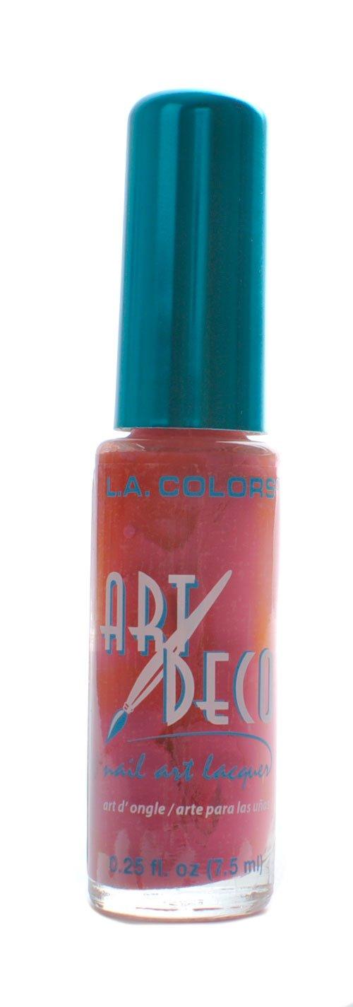 Amazon la colors art deco nail art 901 white nail polish la colors nail art deco nail art rose prinsesfo Gallery