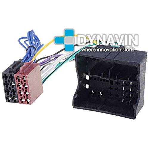 ISO-VAG.2012 - Conector iso universal para instalar radios en Audi, Seat, Skoda y Volkswagen. Dynavin