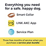 Link AKC Smart Dog Collar with GPS Tracker