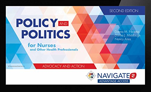 Navigate 2 Advantage Access For Policy And Politics For Nurses And Other Health Professionals