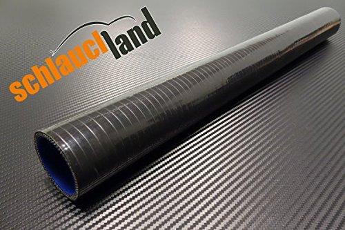 Silikonschlauch 25cm Innendurchmesser 51mm schwarz*** Unterdruckschlauch Vacuum Hose Verbinder LLK