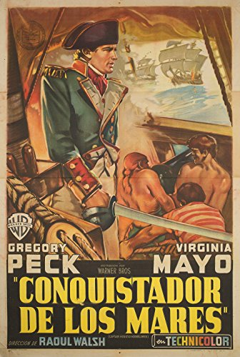 Captain Horatio Hornblower R.N. 1947 Argentine Poster