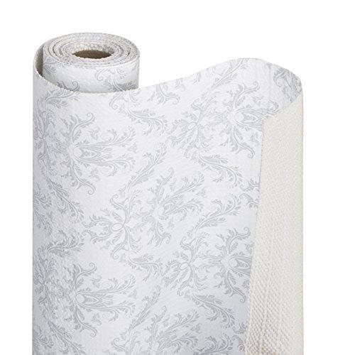 DAZZ 8742509 Fleur Gris Grip Bonded Shelf Liner