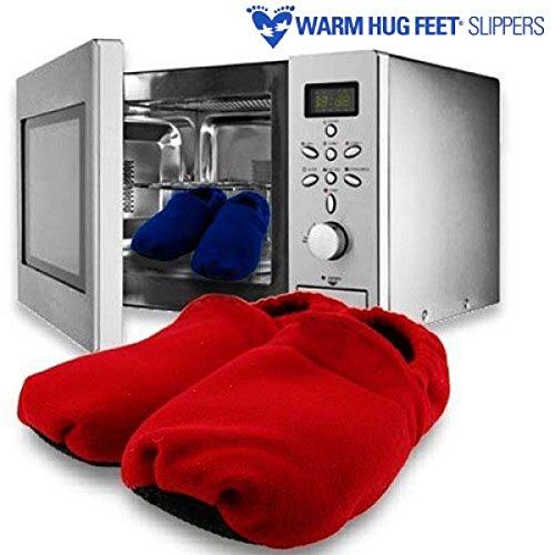 Albiris Zapatillas microondas warm hug feet Azul