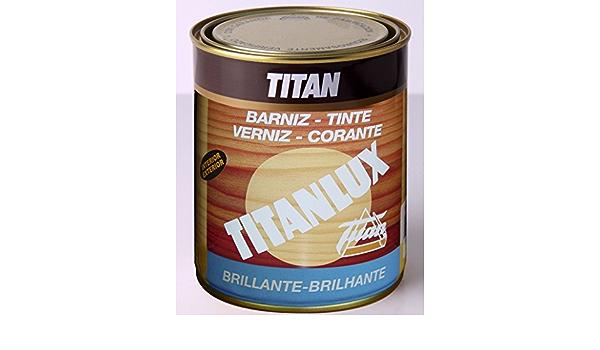 TITANLUX - Barniz Tinte Sint Br Cerezo Titanlux 750 Ml ...