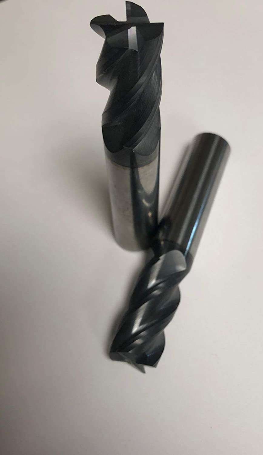 4 Flute,1//4 Dia. Solid Carbide Square End Mill Tialn-Coated
