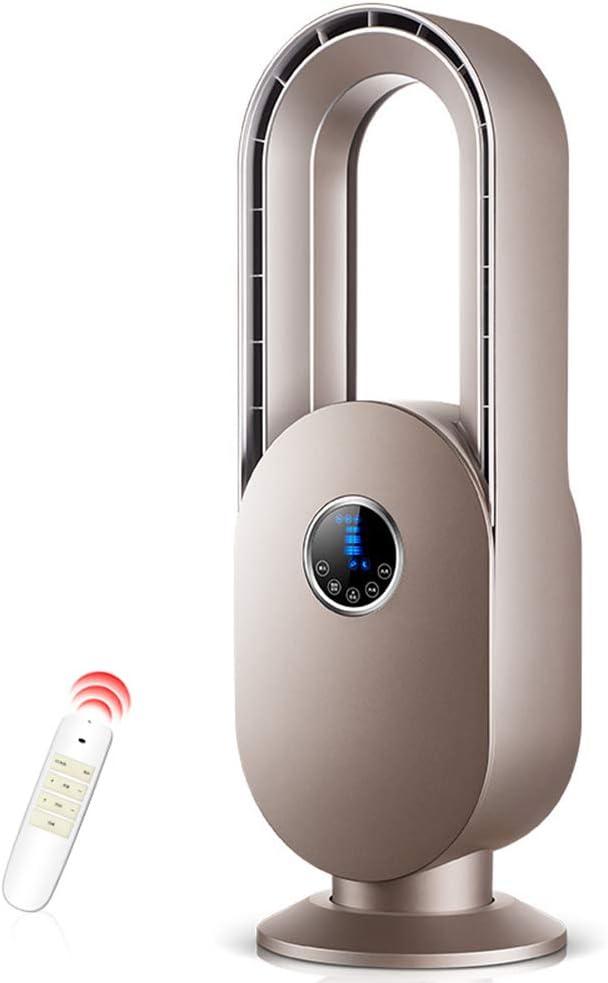 Ventilador sin Aspas/Ventilador de Seguridad, Control Remoto Ultra Silencioso Poderoso Ventilador de Torre de Velocidad del Viento - Dormitorio en Casa de la Escuela-675 * 225 * 140 Cm