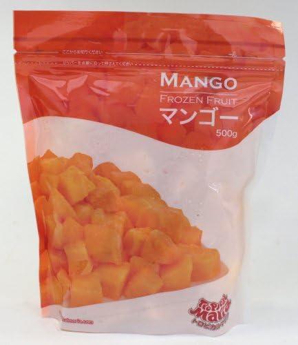 冷凍フルーツ  トロピカルマリア マンゴ-、グレ-プ、ブル-ベリ-(冷凍)各1袋(500g)