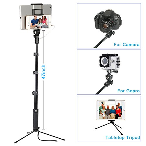 ohCome Selfie Stick [No Bluetooth Battery Free] 16.5-57